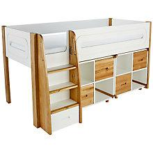 Buy Stompa Curve Mid-Sleeper and 2 Cube Shelving Units, 4 Doors Online at johnlewis.com