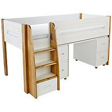 Buy Stompa Curve Mid-Sleeper and Desk, 4 Doors Online at johnlewis.com