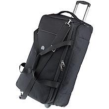 Buy Delsey Montmartre 72cm Suitcase, Black Online at johnlewis.com