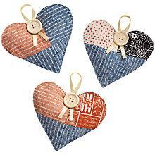 Buy John Lewis Hanging Hearts Craft Kit Online at johnlewis.com