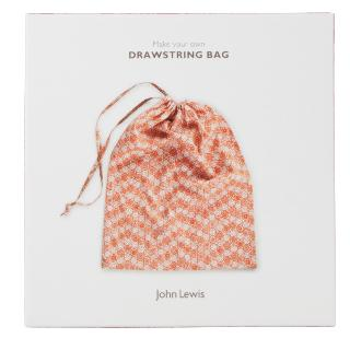 Buy John Lewis Drawstring Bag Craft Kit Online at johnlewis.com