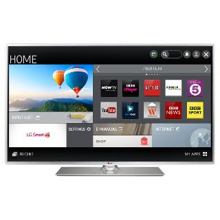 """Buy LG 50LB580V LED HD 1080p Smart TV, 50"""" with Freeview HD Online at johnlewis.com"""