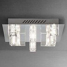 Buy John Lewis Brody 9 Light Semi-flush Ceiling Light Online at johnlewis.com