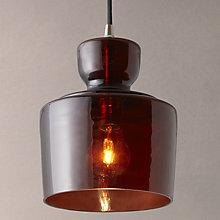 Buy John Lewis Lenore Glass Pendant Light Online at johnlewis.com