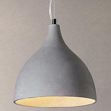 Buy John Lewis Parry Concrete Pendant Light Online at johnlewis.com