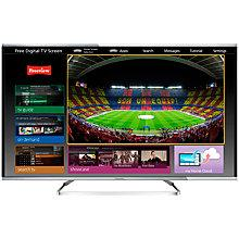 "Buy Panasonic 48AX630B LED 4K Ultra HD 3D Smart TV, 48"" with Voice Control, Freeview HD & Freetime Online at johnlewis.com"