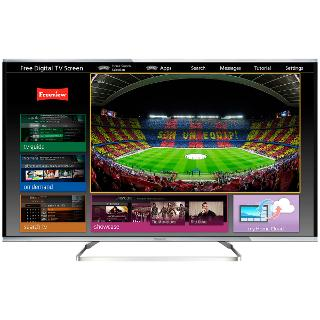 "Buy Panasonic 40AX630B LED 4K Ultra HD 3D Smart TV, 40"" with Voice Control, Freeview HD & freetime Online at johnlewis.com"