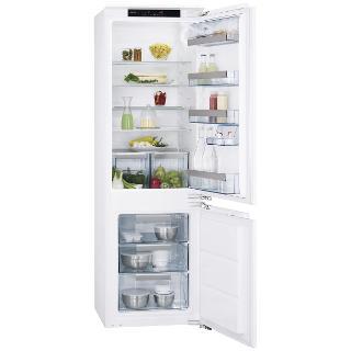 Buy AEG SCS71801F1 Integrated Fridge Freezer, A+ Energy Rating, 56cm Wide Online at johnlewis.com