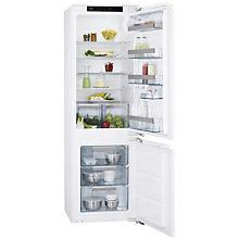 Buy AEG SCS71801F1 Integrated Fridge Freezer, A+ Energy Rating, 56cm Wide Online at johnlewis.com