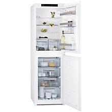 Buy AEG SCN71800S1 Integrated Fridge Freezer, A+ Energy Rating, 54cm Wide Online at johnlewis.com
