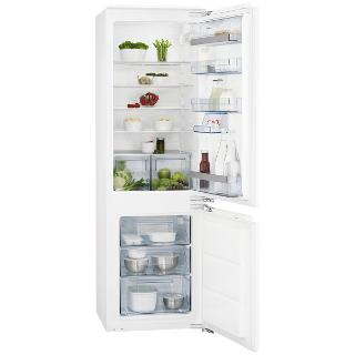 Buy AEG SCS51800F1 Integrated Fridge Freezer, A+ Energy Rating, 56cm Wide Online at johnlewis.com