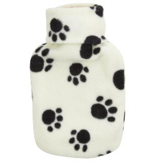 Buy John Lewis Paws Hot Water Bottle, Cream, 0.5 Litre Online at johnlewis.com