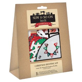 Buy Docrafts Christmas Bunting Kit Online at johnlewis.com