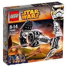 Buy LEGO Star Wars Rebels TIE Advanced Prototype Online at johnlewis.com