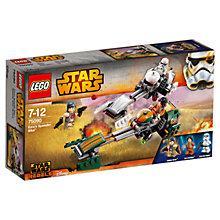 Buy LEGO Star Wars Rebels Ezra's Speeder Bike Online at johnlewis.com