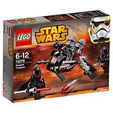 Buy LEGO Star Wars Shadow Troopers Online at johnlewis.com