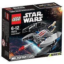 Buy LEGO Star Wars Microfighters Vulture Droid Online at johnlewis.com