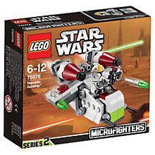 Buy LEGO Star Wars Republic Gunship Online at johnlewis.com