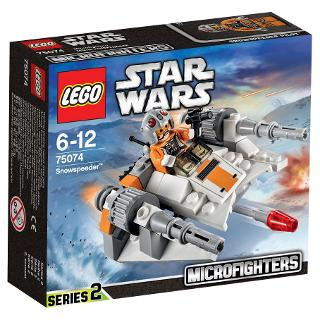 Buy LEGO Star Wars Microfighters Snowspeeder Online at johnlewis.com
