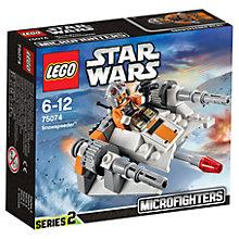 Buy LEGO Star Wars Microfighters Snowspeeder Online at johnlewis.com