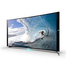"Buy Sony KD65S9005 Curved 4K Ultra HD Smart TV, 65"" with Freeview HD Online at johnlewis.com"