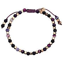 Buy Lola Rose Portobello Persian Agate Bracelet, Purple Online at johnlewis.com