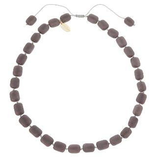 Buy Lola Rose Aila Quartzite Necklace, Cocoa Online at johnlewis.com