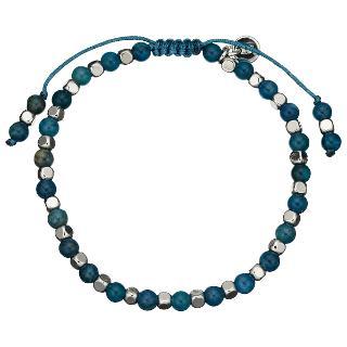 Buy Lola Rose Portobello Kynte Bracelet, Blue/Silver Online at johnlewis.com