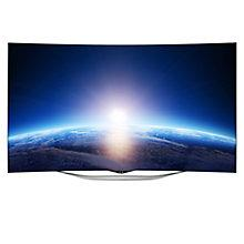 "Buy LG 55EC930V Curved OLED Full HD 3D Smart TV, 55"" with Freeview HD and 1x 3D Glasses Online at johnlewis.com"