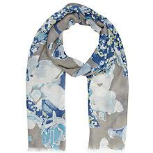 Buy Lola Rose Unicorn Flowers Scarf, Blue Online at johnlewis.com