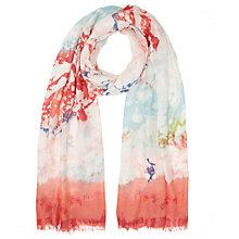Buy Lola Rose Water Marble Scarf, Pink Online at johnlewis.com