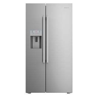 Buy Beko ASP341X American Style Fridge Freezer, Stainless Steel Online at johnlewis.com