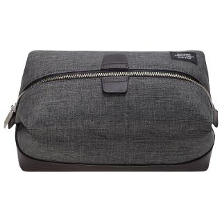 Buy Jack Spade Oxford Cotton Wash Bag, Grey Online at johnlewis.com