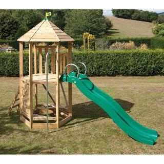 Buy TP Toys CS6 Castlewood Tower & CrazyWavy Slide Set Online at johnlewis.com