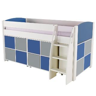 Buy Stompa Uno S Plus Mid-Sleeper and 3 Cube Units with 12 Doors Online at johnlewis.com
