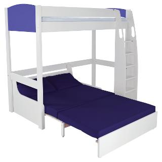 Buy Stompa Uno S Plus High-Sleeper with Sofa Bed Online at johnlewis.com
