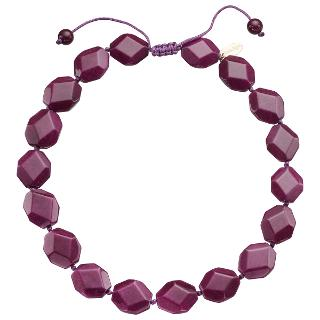 Buy Lola Rose Abbie Necklace, Black Cherry Online at johnlewis.com