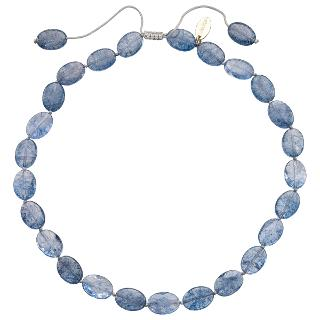 Buy Lola Rose Kyra Rock Crystal Necklace, Navy Online at johnlewis.com