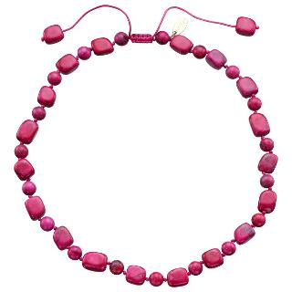 Buy Lola Rose Lynn Necklace, Pink/Turquoise Online at johnlewis.com