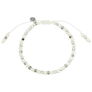 Buy Lola Rose Portobello Faux Pearl Bracelet, White Online at johnlewis.com