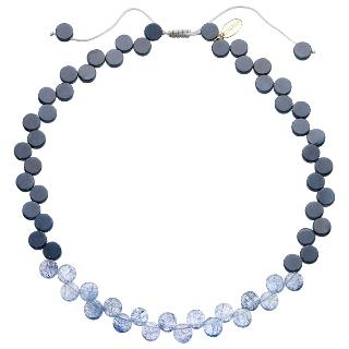 Buy Lola Rose Helda Rock Crystal Necklace, Navy Online at johnlewis.com