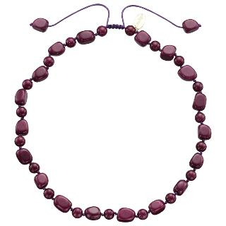 Buy Lola Rose Lynn Quartzite Necklace, Black Cherry Online at johnlewis.com