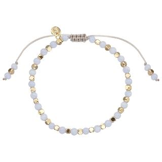 Buy Lola Rose Portobello Agate Bracelet, Blue Online at johnlewis.com