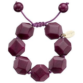 Buy Lola Rose Susanna Black Cherry Quartzite Bracelet, Purple Online at johnlewis.com