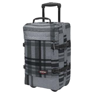 Buy Eastpak Tranverz 2-Wheel Small Suitcase, Grey Online at johnlewis.com