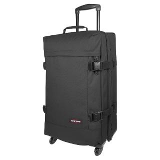 Buy Eastpak Tranverz 4-Wheel Medium Suitcase, Black Online at johnlewis.com
