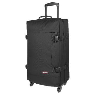 Buy Eastpak Tranverz 4-Wheel Large Suitcase, Black Online at johnlewis.com