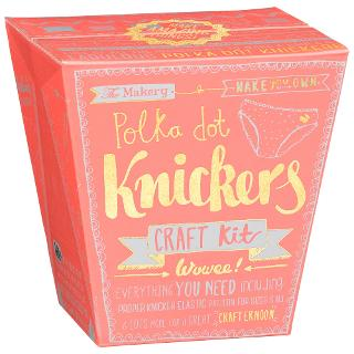 Buy The Makery Polka Dot Knickers Kit Online at johnlewis.com