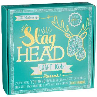 Buy The Makery Make a Stag Head Kit Online at johnlewis.com