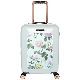 Buy Ted Baker Distinguished 4-Wheel Small 54cm Cabin Suitcase, Green Online at johnlewis.com